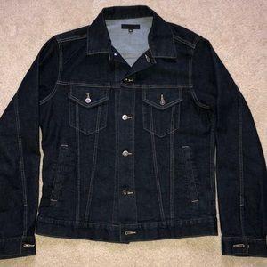 Uniqlo Denim Trucker Jean Jacket Slim Fit Large